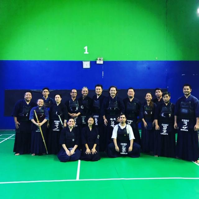 セブのセブ剣道クラブの稽古に行ってきました